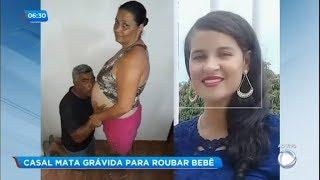 Casal enforca, mata e tira bebê da barriga de grávida em Minas Gerais