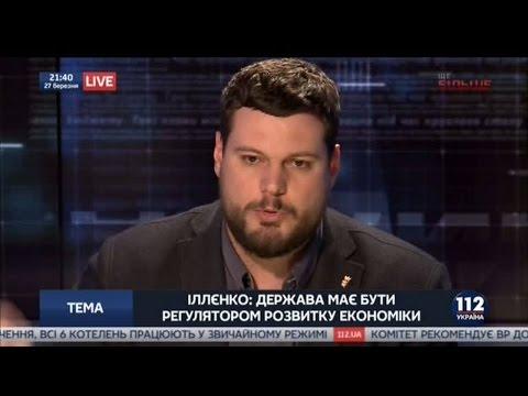 """Андрій Іллєнко в етері телеканалу """"112 Україна"""""""