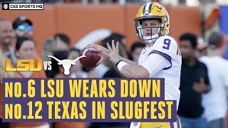 LSU vs. Texas Recap: No. 6 Tigers make statement with road win over No. 9 Longhorns| CBS Sports HQ