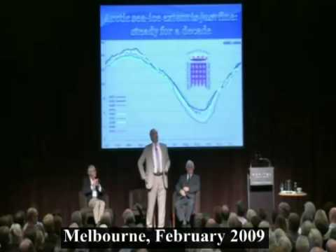 Monckton Bunkum Part 1 - Global cooling and melting ice