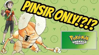 Can You Beat Pokemon Emerald Using Only a Pinsir?