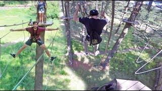 SCARIEST OBSTACLE COURSE (would you try it?)