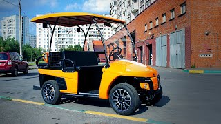 Российский Электромобиль ГЕРДАКАР/ Russian Electric car Gerdacar