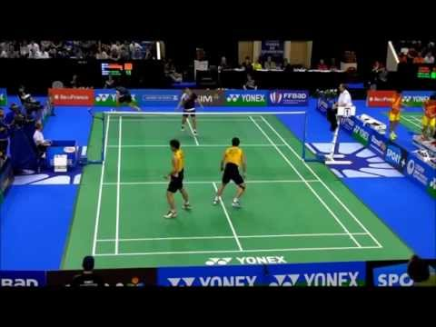 The best of Lee Yong Dae/Ko Sung Hyun vs Koo Kien Keat/Tan Boon Heong match