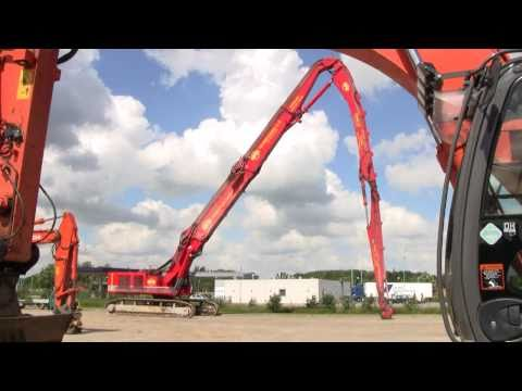 Hitachi Zaxis 870 Megatron Ultra High Demolition Excavator
