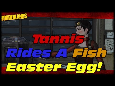Borderlands Tannis Fish Tannis Rides a Fish Easter