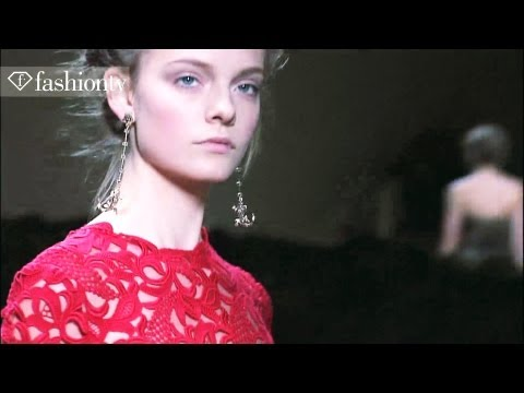 Valentino Runway Show - Paris Fashion Week Spring 2012 PFW | FashionTV - FTV