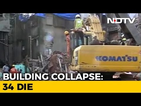Number Of Dead In Mumbai Building Collapse Rises To 34