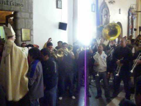BANDA TIERRA SAGRADA MAÑANITAS A SAN GREGORIO MAGNO 2012