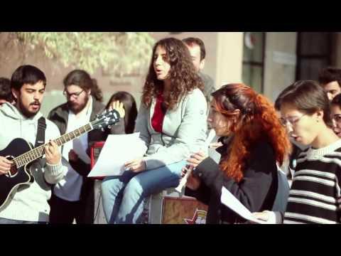 ODTÜ öğrencilerinden Boğaziçi'ne şarkılı selam: