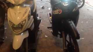 Honda Dream 2015 VS Suzuki Nex New 2014