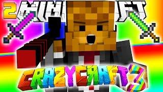 Minecraft CRAZY CRAFT 3.0 - SquidZooka + Amethyst Sword #2