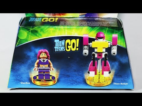 Teen Titans Go! Lego Dimensions with Starfire and Titan Robot 71287