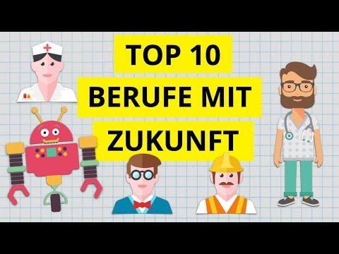 Die Top 10 aussichtsreichsten Berufe für die Zukunft -  Jobs mit Zukunft trotz Digitalisierung