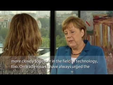 Chancellor Angela Merkel on Deepening German-US Relations