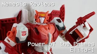 Nemesis Reviews Transformers Power of the Primes Elita-1