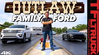 Can a Tuned 650 HP Ford Expedition Grocery Getter Outrun a Mustang GT V8?
