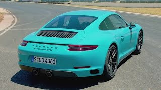 2017 Porsche 911 Carrera GTS Miami Blue - Ultimate Sports Car 450 hp