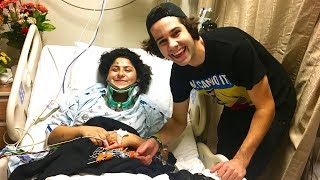 SURPRISING HER AT THE HOSPITAL!!