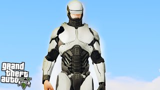 THE ULTIMATE ROBOCOP! GTA 5 Mods