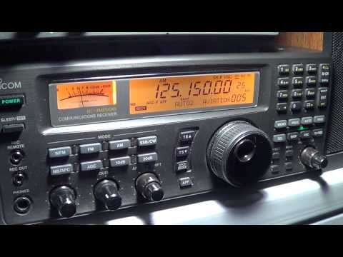 Scanning VHF-AIR Band on Icom IC R 8500