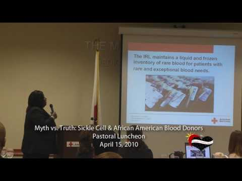 Sickle Cell & African American Blood Donors Pastoral Luncheon Pt 7 Featuring Arthurene Cardwell