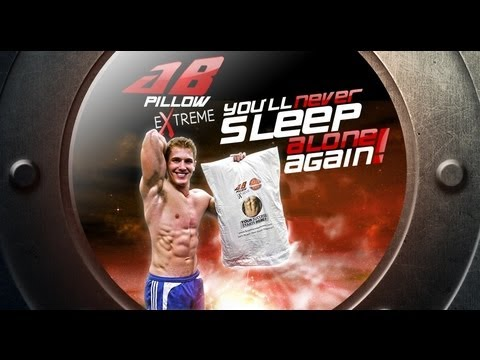 Ab Pillow EXTREME!- You'll Never Sleep Alone Again! (Home & Gym)