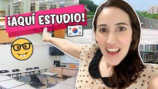 TOUR DE MI UNIVERSIDAD EN COREA ¡Conoce mi Escuela en Seúl! | HelloTaniaChan