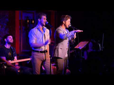 ERIC MICHAEL KROP and NAT ZEGREE singing PUT THE MAN IN ROMANCE by Carner & Gregor - 8/21/14