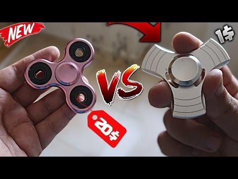 ¡¡ 1$ FIDGET SPINNER VS 20$ SPINNER !! EL SPINNER MÁS BARATO VS FIDGET SPINNER CARO ¿ES MEJOR?