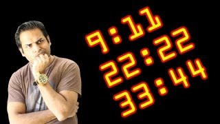 I keep seeing the same numbers, what does it mean? Numerology (9:11,22,33,44)