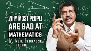 Why most people are bad at mathematics - Neil deGrasse Tyson asks Richard Dawkins