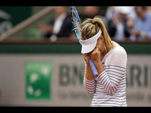 Maria Sharapova VS Samantha Stosur Highlight 2015