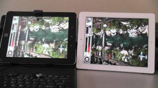 SmartQ T10 Vs iPad2 (AirAttack HD) 1080P