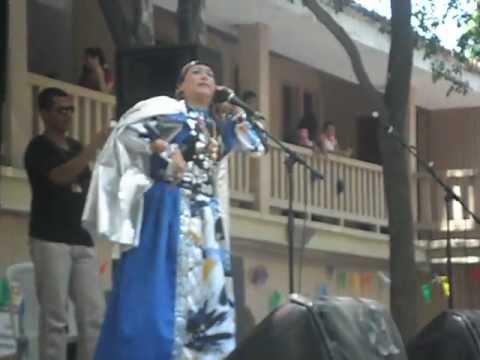 Bruja Dioselina en la Universidad del  Magdalena.. AVI