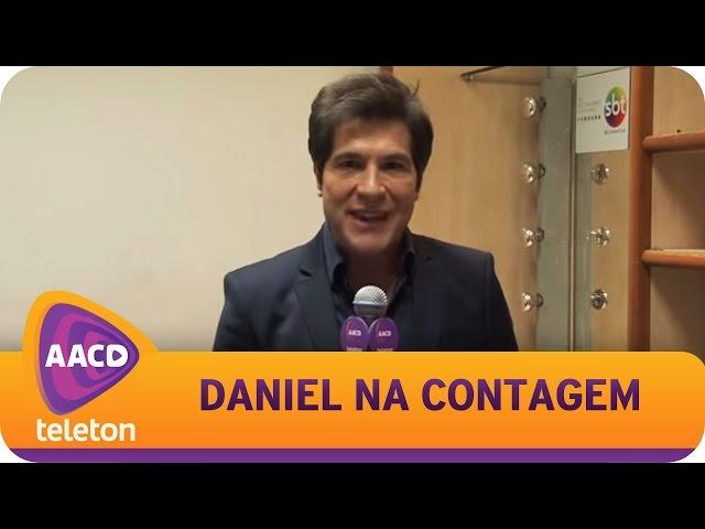 TELETON 2014 - Daniel entra para a contagem regressiva.