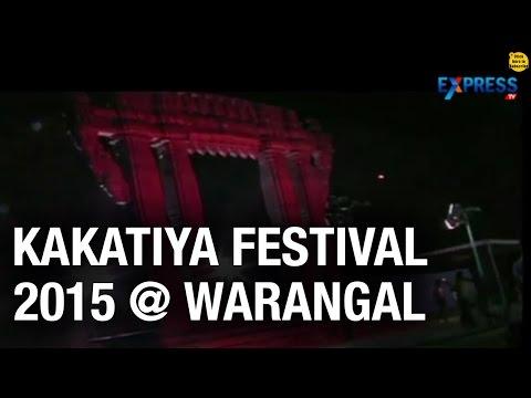 Kakatiya Festival 2015  at Warangal : Telangana government to highlight Kakatiya Dynasty