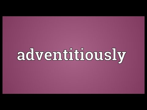 Header of adventitiously