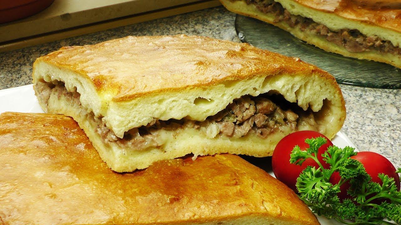 Открытый мясной пирог в мультиварке рецепты