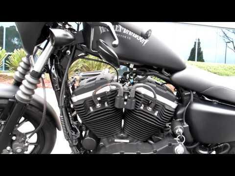 2012 Harley Iron 1200cc Rough Craft Guerilla Exhaus