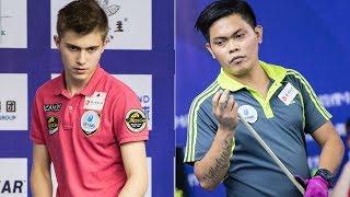 2017 CBSA Liuzhou 9-Ball Open│Sanjin Pehlivanovic vs. Oliver Villafuerte