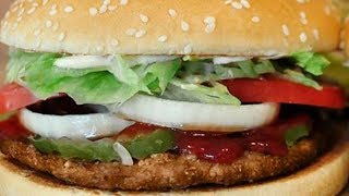 Burger King 10 Whopper Challenge