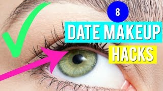 8 Date MAKEUP Tricks Every Girl Should Know!!!