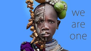 We are One.  Transformations of African Faces – Trailer