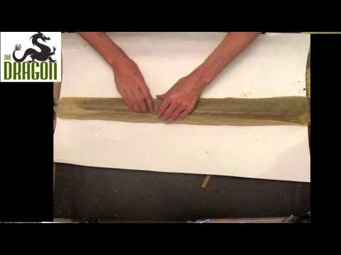 A True One Pound Joint - rolling over 500 grams of Cannabis