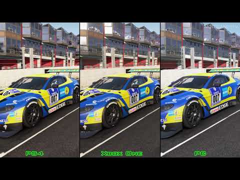 Project CARS - PS4 vs Xbox One vs PC - Graphics Comparion