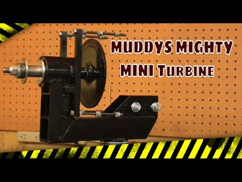 THE DESIGNING OF MUDDYS' MIGHTY MINI WIND TURBINE PART 1