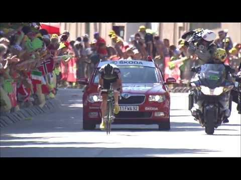 Edvald Boasson Hagen winning stage 17