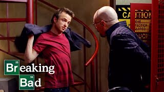 Walter White and Jesse Pinkman Discuss Their New Work Space - S4 E3 Clip #BreakingBad