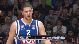 ABA Liga 2018/19 highlights, Round 2: Budućnost VOLI - Crvena zvezda mts (7.10.2018)